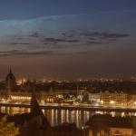 Conjonction du solstice au-dessus de Budapest