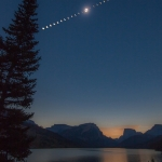 Eclipse totale sur le Wyoming