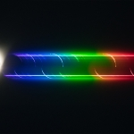 Le spectre éclair du Soleil