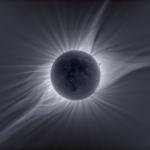 La couronne solaire dans toute sa splendeur