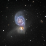 M51, la galaxie du Tourbillon