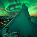 Verte compagnie sur la Norvège