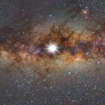 Soleil de solstice au centre de la Voie lactée