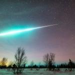 Boule de feu sur l'Arctique