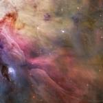 LL Ori et la nébuleuse d'Orion