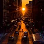 Chicago henge : l'équinoxe dans une ville d'alignements -