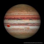 Hubble montre le rétrécissement de la Grande Tache Rouge de Jupiter