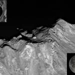 L'étonnante roche du pic central de Tycho