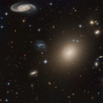Lointaines galaxies