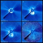 Une puissante éruption solaire