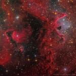 IC 1871, à l'intérieur de la nébuleuse de l'Ame