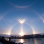 Extraordinaires halos solaires