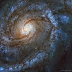 M100, galaxie spirale de grand style