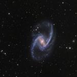 NGC 1365, magnifique île-univers