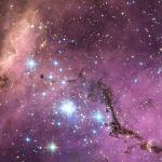 N11, nuages d'étoiles dans le Grand Nuage de Magellan