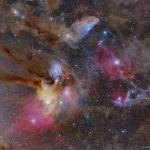 Rho Ophiuci et ses voisines