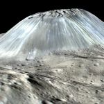 Ahuna Mons, étrange montagne de l'astéroïde Cérès