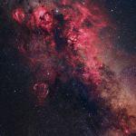 Paysage céleste du Cygne