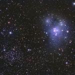 NGC 7129 et NGC 7142
