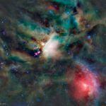 Les jeunes étoiles de Rho Ophiuchi