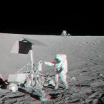 Apollo 12 visite Surveyor 3 en stéréo