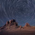 Filé d'étoiles sur une défunte planète