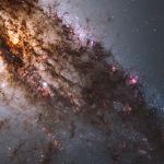 En plein dans Centaurus A