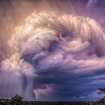 Eclairs sur le Colorado