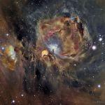 La nébuleuse d'Orion en oxygène, hydrogène et soufre