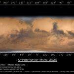 Carte de Mars à l'opposition