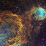 WR32 et les nuages interstellaires de la Carène