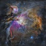 Nébuleuse d'Orion : une vue d'Hubble