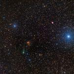 Le Crabe et la comète de Rosetta