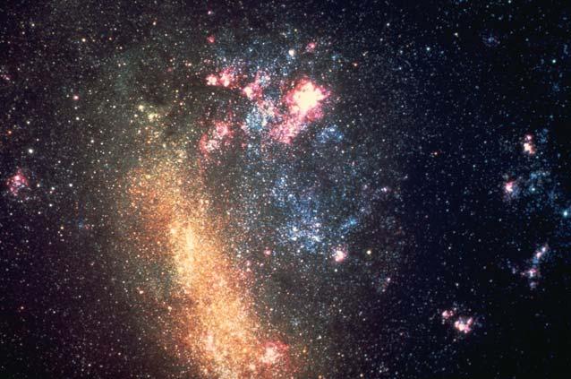 Galaxie voisine : le Grand Nuage de Magellan