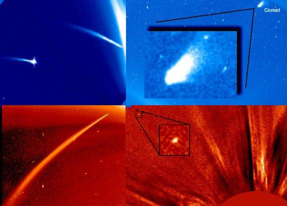 Les Comètes de SOHO