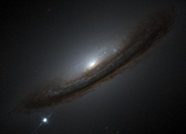 La supernova 1994D et l\'Univers inattendu