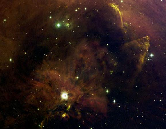 Un panel de curiosités dans Orion A