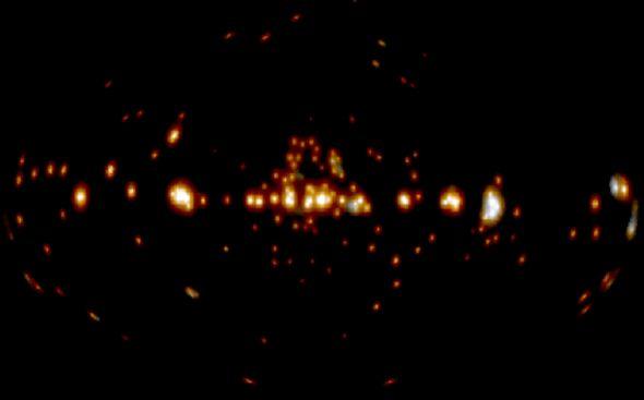 Le mystère des rayons gamma