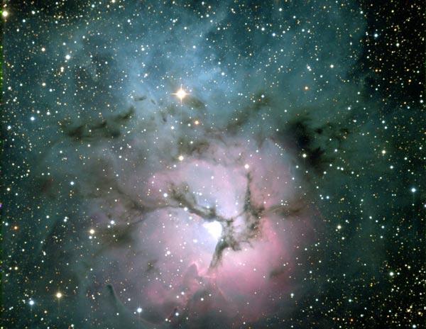 M20 : la nébuleuse Trifide