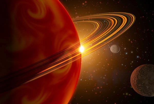 Des mondes de la taille de Saturne découverts