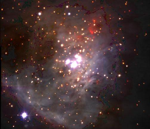 Planètes à la dérive dans Orion