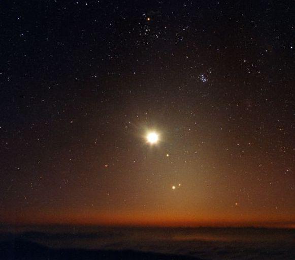 Des planètes au-dessus de l\'horizon