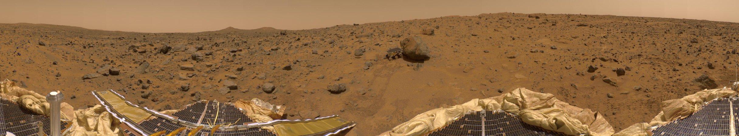 Un panorama présidentiel de Mars
