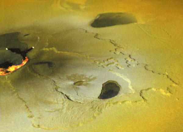 Une éruption permanente sur la lune de Jupiter Io