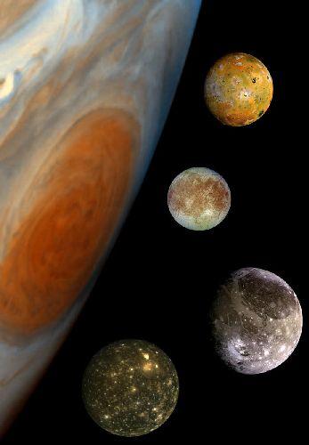 Jupiter et sa famille