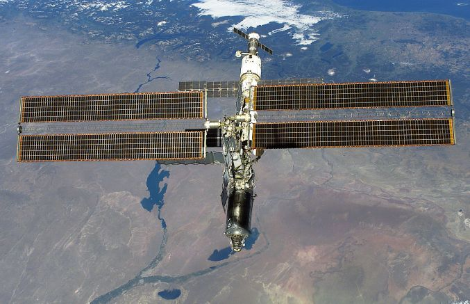 Une station spatiale a rendez-vous avec son Destin