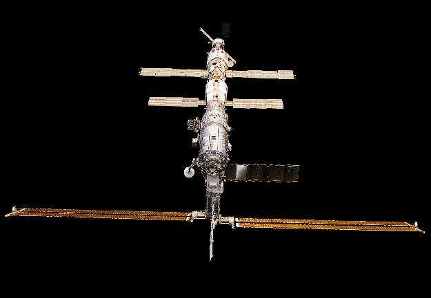A l\'approche de la station spatiale internationale