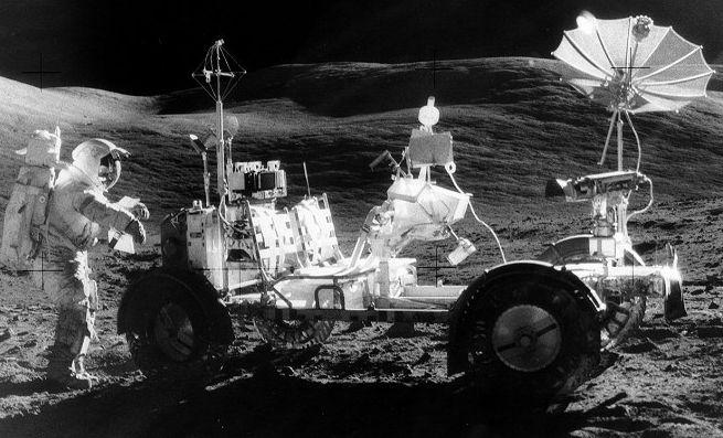 Le Rover lunaire d\'Apollo 17