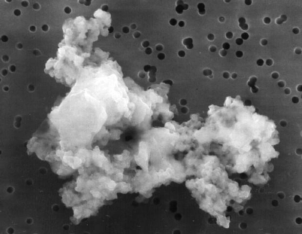 Un morceau de poussière interstellaire