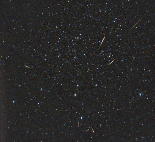 Compter les étoiles filantes